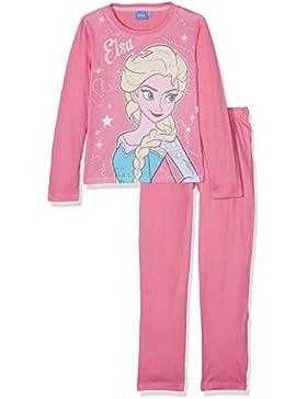 Disney Frozen - Il regno di ghiaccio Ragazze Pigiama - fucsia