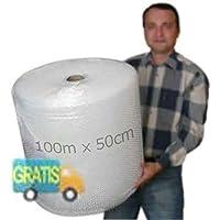 Plástico de burbujas rollo para embalar - Bobina de papel burbuja para Mudanza