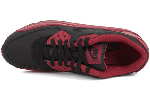 Nike Air Max 90 Winter Prm, Chaussures de Running Entrainement Homme Rojo / Noir (Gym Red / Black)