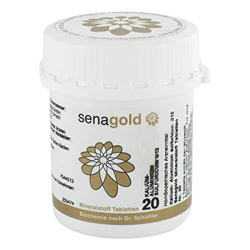 Schüßler Salz Nr.20 - Kalium alu. sulf. D12-400 Tabletten, glutenfrei -