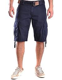 Gant Homme MCBI131002O Bleu Coton Shorts