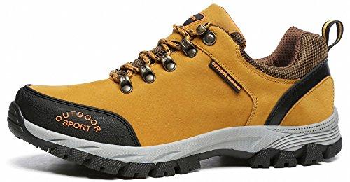 BenSorts Herren Wasserdichte Sport Outdoor Wanderschuhe Trekking Schuhe Anti-Slip Trail Sneaker 39-52