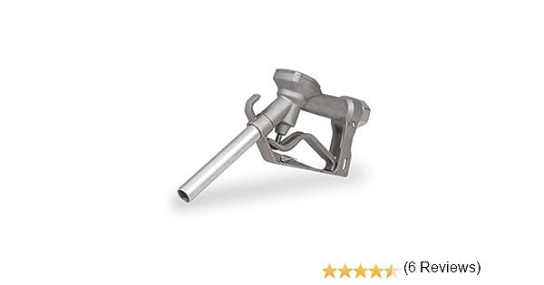 """Berlan Pistolet de distribution en aluminium 120 l//min 1/"""" Filetage femelle Pistolet pour pompe /à gasoil"""