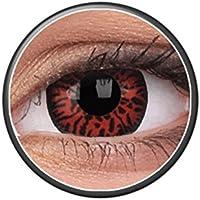 Kontaktlinsen Festive ohne Stärke Phantasee Modell Fancy Lens One Day Thunderbolts