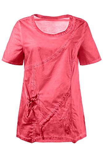 Ulla Popken Femme Grandes Tailles Blouse 710261 fuchsia hibiscus
