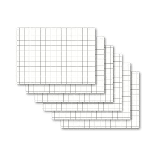 Karteikarten 500 Stück A6 weiß kariert