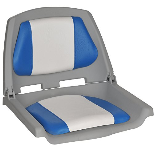 Oceansouth Fisherman Boat Seats (Blue/White)