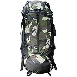 Da Tasche Climb High 75L Military Black Rucksack