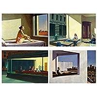 Set 4 Tovagliette Edward Hopper (Pittore)