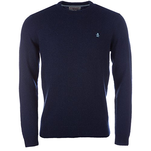 mens-original-penguin-mens-crew-neck-knit-sweat-in-navy-2xl