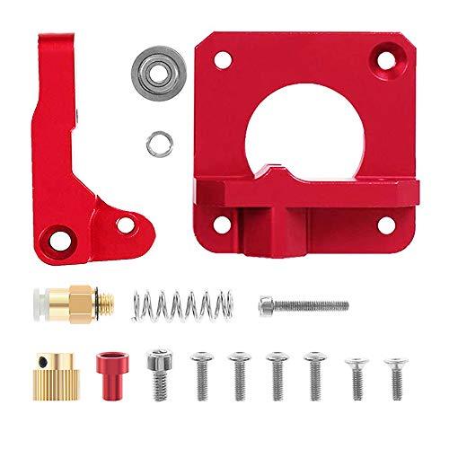 GESPERT Extruder Aluminium MK8 Drive Ausrüstung für Ender 2 3,Creality CR-8,CR-10 Serie, Rechte Hand -