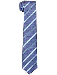 Tiemaster Yogo's Stylish Formal Men's Tie/Premium Blue Tie/Partywear Men's Tie