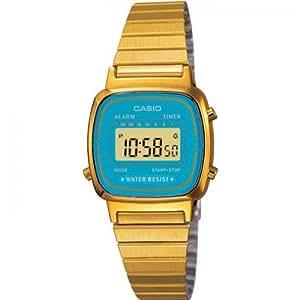 Casio Collection Damen-Armbanduhr Digital Quarz LA670WGA-2DF
