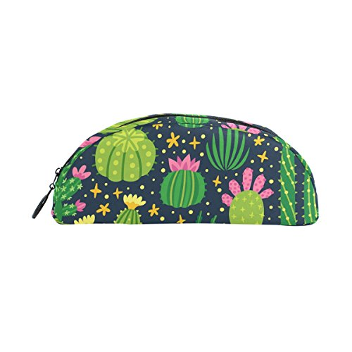 e Kaktus Reißverschluss Pen Bleistift Tasche für Kinder Mädchen Jungen Jugendliche Erwachsene (Cute Halloween Make Up Ideen)