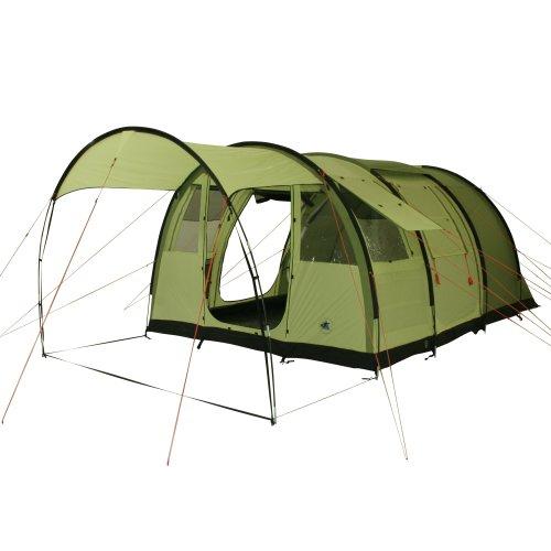 10T Zelt Leighton 4 Mann Familienzelt 5000mm Tunnelzelt wasserdichtes Campingzelt Bodenwanne Vordach