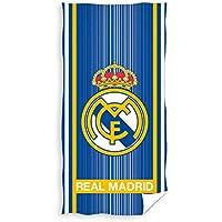 TEXTIL TARRAGO Toalla de Playa Real Madrid 70x140 cm 100% algodón