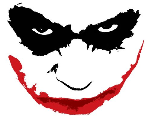 Dark Knight joker, Popart-Design Ölgemälde 50.80 es x 20 cm, The joker im Stil der klassischen The Dark Kinight, gerahmt, auf Anfrage ungerahmte Leinwand erhältlich, bitte nähere Angaben für Eine E-Mail senden.
