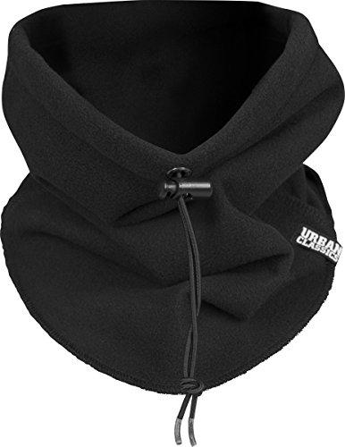 Urban Classics Unisex Polar Fleece Neck Gaiter Schal, schwarz (# 7), One size -