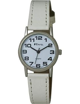 Ravel Damen-Armbanduhr Analog Quarz Leder R0105.09.2
