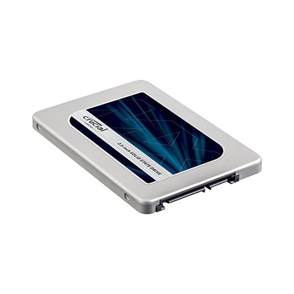 Crucial MX300 Interne Festplatte (6,4 cm (2,5 Zoll), SATA)