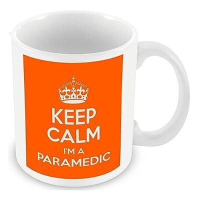 Keep Calm I'm a Paramedic (Orange) Mug