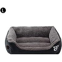 Bloomma Cama para Mascotas con impresión de Pata de Perro - Productos para Mascotas Cama para