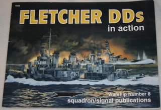 Fletcher DDs (Warships in Action S.) por Jerry Scutts