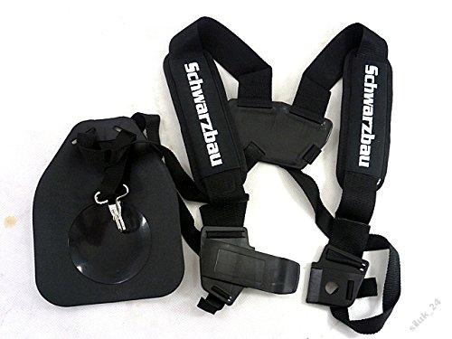 Cintura a bretelle regolabili per decespugliatore