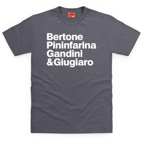 PistonHeads Names 1 T-Shirt, Herren Anthrazit