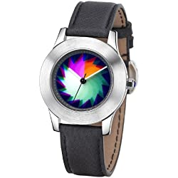 Rainbow Watch Unisex Wristwatch Elegancia Saw EL47A-B-SB-sa