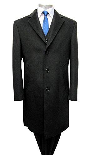 Muga Homme Manteaux, Noir Noir