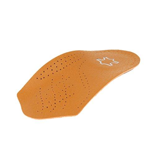 Sharplace Unisex Damen Herren 3/4 Mittelfußstütze orthopädische Einlage halbes Fußbett - S -