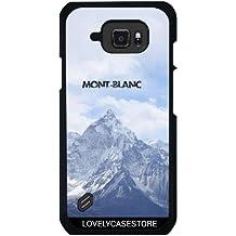 Funda para Samsung Galaxy S6 Active - Montaña Mont Blanc Alpes Invierno Nevera Altitud Fria Chamonix