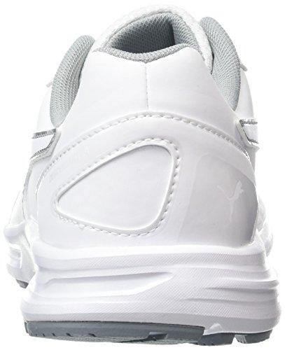 Puma Unisex-Erwachsene Descendant V4 Sl Leichtathletikschuhe Weiß