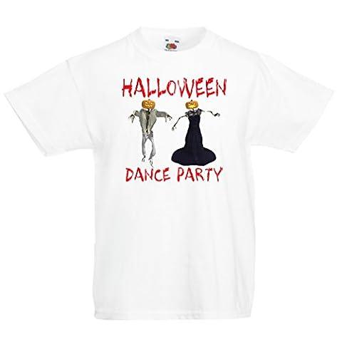Costumes Chucky Fille Halloween - T-shirt pour enfants Fête d'Halloween (9-11 years