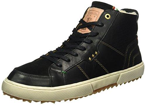 Pantofola D'OroTeco Pelliccia Uomo Mid - Scarpe da Ginnastica Basse Uomo , Nero (Schwarz (.25Y)), 42