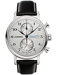 Junkers Herren-Armbanduhr Chronograph Quarz Leder 65861