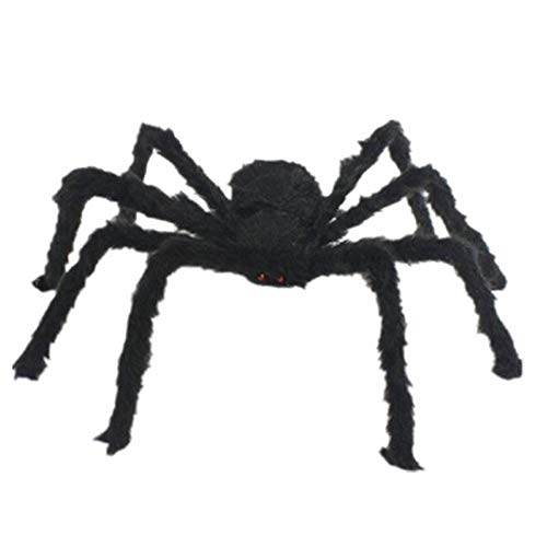 nge Schwarze Plüschspinne Spinne Geschenk Spider Spielzeug Halloween Riesenspinne Black Widow Halloween Dekoration Haunted House Prop Plüsch Spinne beängstigend Dekoration. ()