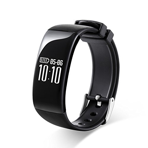 RG multifunzionale senza fili Braccialetto Bluetooth Sports Tracker Fitness Salute Monintor per iOS sistema Android (Fitness Trainer Heart Rate Monitor)