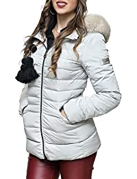 Amazon.it  Piumini Peuterey - 48   Giacche e cappotti   Donna ... a04629760a5