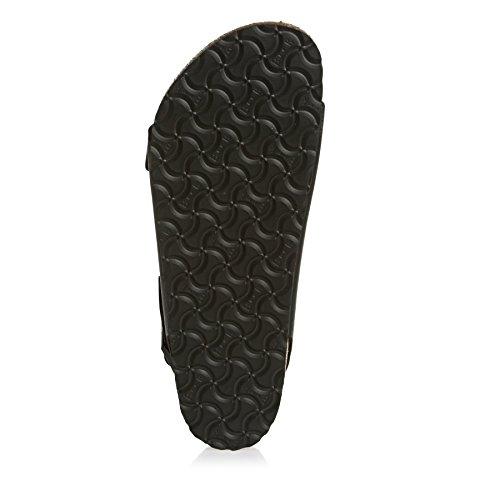 Birkenstock Classic MILANO BF Unisex-Erwachsene Knöchelriemchen Sandalen Black