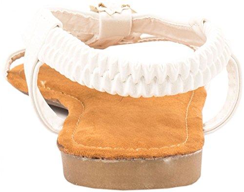 Elara , Sneakers Basses femme Weiß