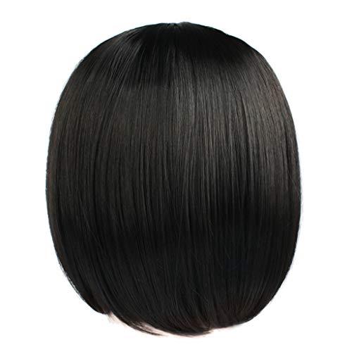 Mypace Blond Lang Glatt Für Männer Damen Perücken kurze gerade synthetische Haar volle Perücken für Frauen natürliche schauende Wärme -
