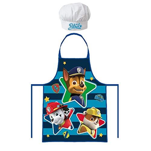 Set de cuisine pour enfants PAT PATROUILLE (tablier et toque).
