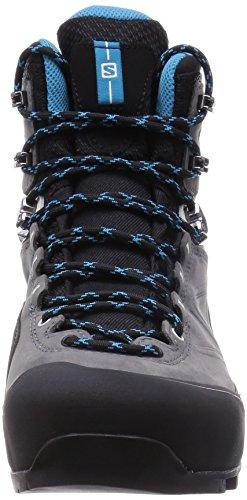 Salomon Damen L37915700 Wanderschuhe grau/schwarz