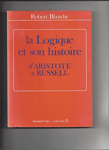 La logique et son histoire, d'Aristote à Russell