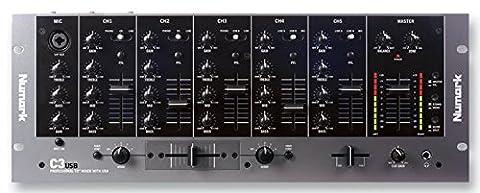 NUMARK C3USB DJ MIXER RACKMOUNT 5 CHANNEL +USB [1] Pro-Series (Epitome Verified)