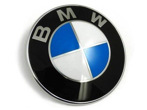 BMW Emblem Logo Motorhaube 82mm Plakette fur E36 E38 E39 E30 E46 E34 - NEU