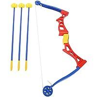 VGEBY Kids Archery Toy, Tactical Archery Toy Set con Ventosa para niños Juego Interior al Aire Libre