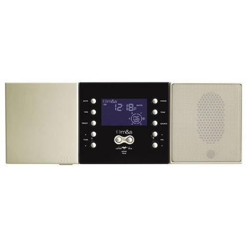 M&S DMC3-4 Music / Communication System Master Unit, Retrofit, Almond by M&S Systems Dmc3 4 Master